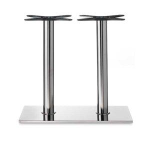 Basamenti Per Tavoli In Cristallo.Basi E Tavoli In Acciaio Ghisa Ferro Alluminio E Polietilene
