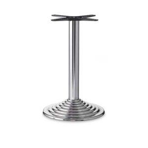 base-tavolo-acciaio-cromato-450