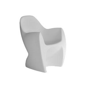 poltroncina in polietilene per l'outdoor modello lounge