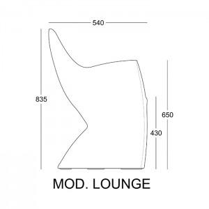 disegno tecnico lounge