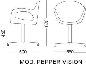 pepper vision