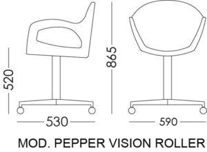 pepper vision roller